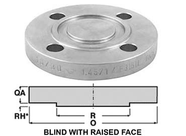 Stainless Steel 304 Blind Flanges