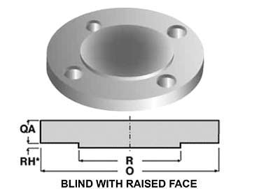 Stainless Steel 316L Blind Flanges