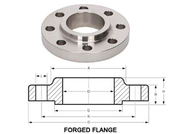 SA182 F304 Stainless Steel Forged Flanges
