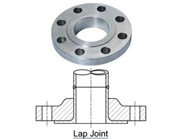 SS ASTM A182 F304 Lap Joint Flanges