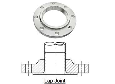 Stainless Steel UNS S31603 Lap Joint Flanges