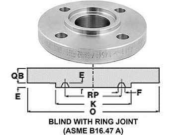 304 Stainless Steel 1.4301 RTJ Flanges