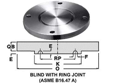 SA182 F316L Stainless Steel RTJ Flanges
