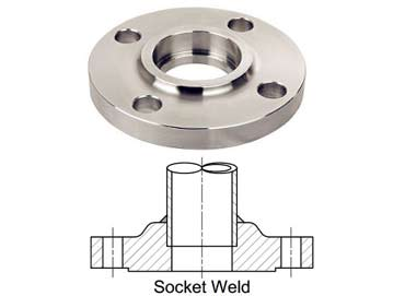 Stainless Steel Grade F304 Socket Weld Flanges