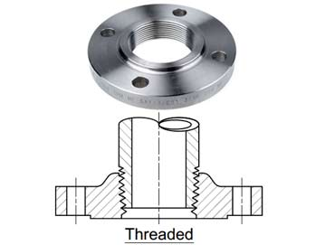 304 SS Threaded Flanges